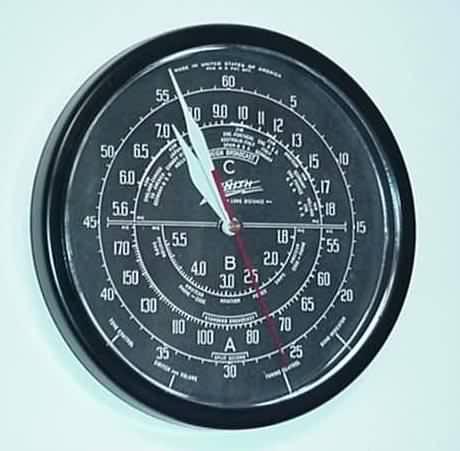 Zenith Dial Clock