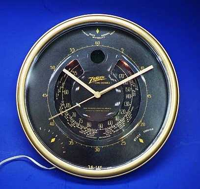 Zenith Dial Clock --- Click to enlarge photo